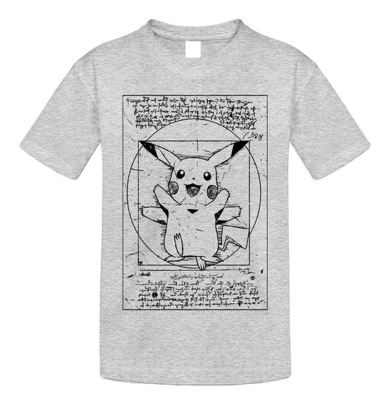 Playera Anime Pokemon Detective Pikachu