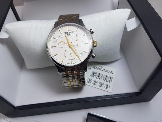 Relógio Tissot Tradition To63617 Original Completo