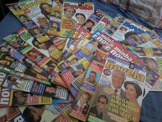 Lote 23 Revistas Minha Novela 2001-2002 Em Ótimo Estado