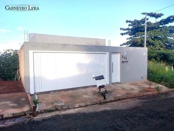 Casa Com 1 Dormitório À Venda, 62 M² Por R$ 220.000 - Jardim Parati - Jaú/sp - Ca0630