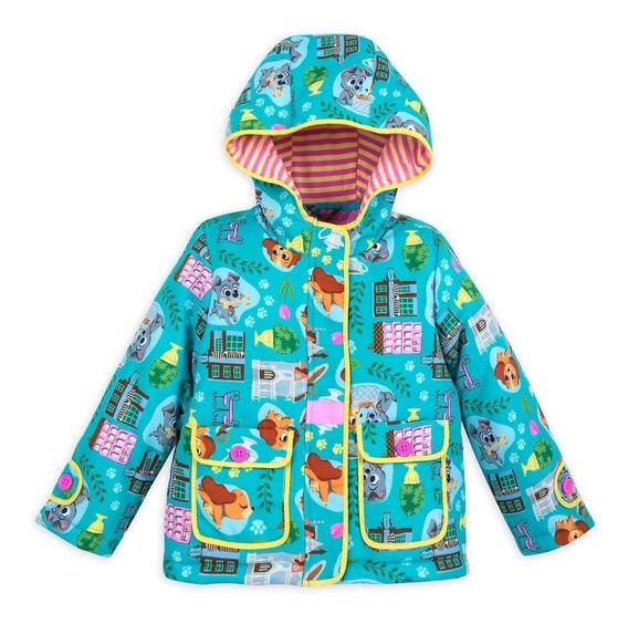 Casaco Infantil Menina Disney Store Original Importado T=7/8