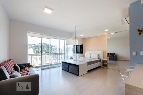 Apartamento Para Aluguel - Gonzaga, 1 Quarto,  55 - 893300934