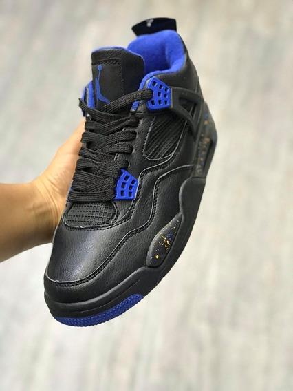 Jordan Retro 4 Negro