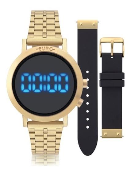 Relógio Euro Digital Fashion Fit Eubj3407aa/t4p - S. Sato