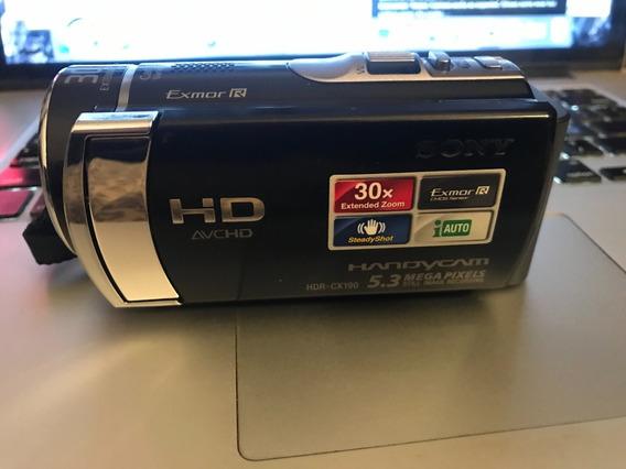 Filmadora Sony Handycam Hdr Cx-190 Hd 5.3 Mega Pixels