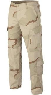 Pantalon Desert 3 Corte Acu 8 Bolsilos Tactico Camuflado