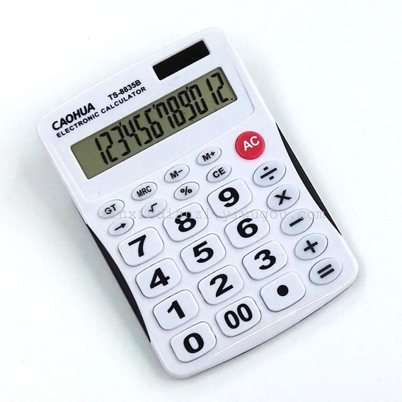 Calculadora De Mesa Display 12 Digitos Importada Ts8835b