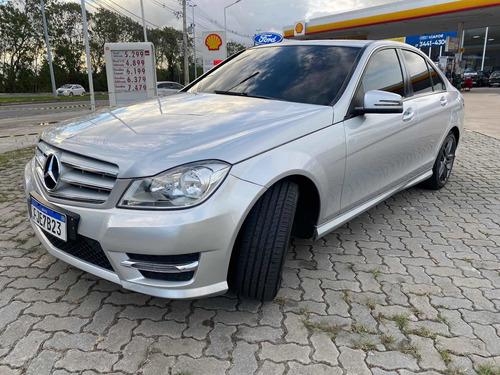 Imagem 1 de 10 de Mercedes-benz Classe C 2013 1.6 Sport Turbo 4p