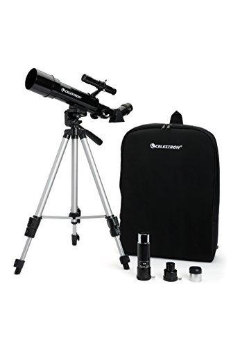 Celestron 21038 Travel Scope 50 Telescope (negro)