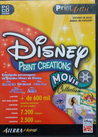 Print Artist Disney Print Creations Movie (lacrado)