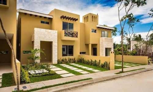 Casas Residencial En Venta En Playa Del Carmen