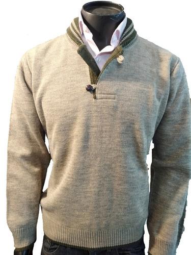 Sweater Buzo Hombre Modelo Náutico Innovatex Tejido De Punto