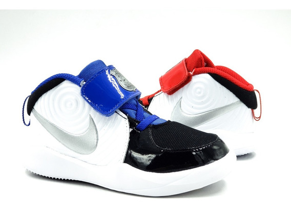 Nike Team Hustle D 9 Auto Ck0617001 Azul-rojo Niño