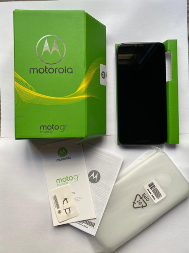 Moto G7 Power 32gb Azul (box) Semi-novo!!!