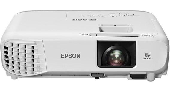 Projetor Epson X39 3500 Lumens Xga 1024x768 Bro