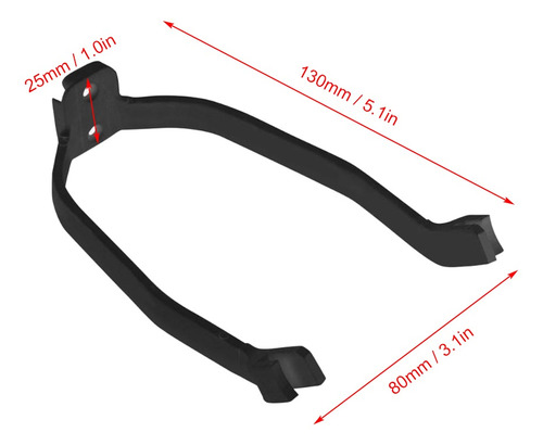 Guardabarros Profesional del Soporte del Guardabarros Soporte Plegable Vespa Modificaci/ón Proteger de la Suciedad y Salpicaduras Compatible para Xiaomi Mijia M365 Negro