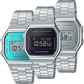 a1367d2084e4 Reloj Casio Retro Vintage A168 Cristal Mineral Nuevo Modelo