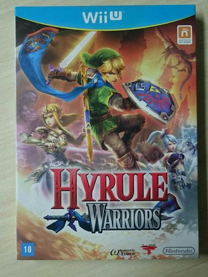 Zelda Hyrule Warriors Com Luva Nintendo Brasil Lacrado