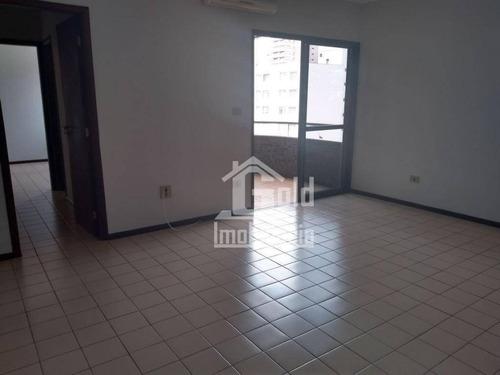 Imagem 1 de 7 de Apartamento Com 1 Dormitório, 63 M² - Venda Por R$ 380.000,00 Ou Aluguel Por R$ 800,00/mês - Jardim Sumaré - Ribeirão Preto/sp - Ap4116
