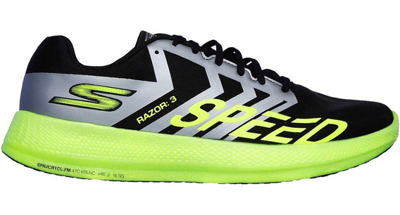 Tenis Skechers Go Run Razor 3 Correr Run Competencia Oferta