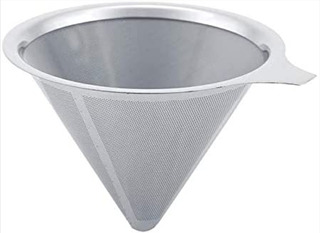 Dripper Filtro De Café Inoxidable Reutilizable Chemex V60 02
