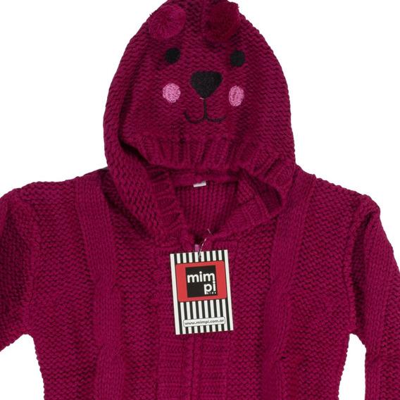 Campera Pullover Sweter 18 M A 3 Años Capucha. Regalosdemama