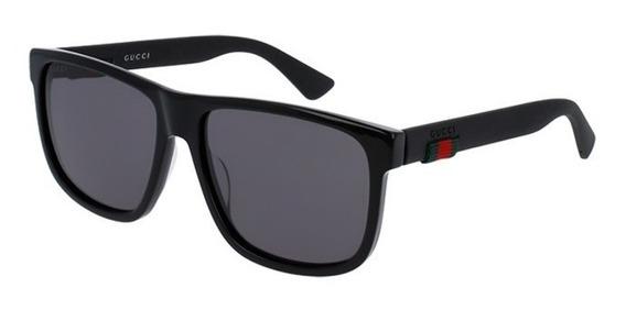 Lentes Gucci (sunglasses Gg0010s-001 58)