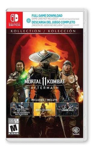 Mortal Kombat 11 Aftermath - Nintendo Switch