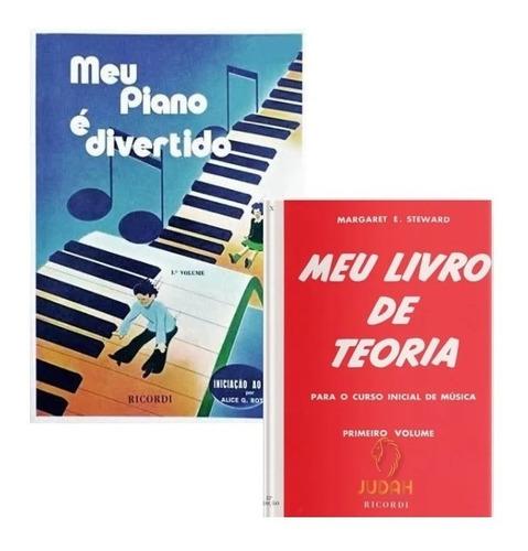 Imagem 1 de 3 de Kit - Meu Piano É Divertido E Meu Livro De Teoria - 1º Vol.