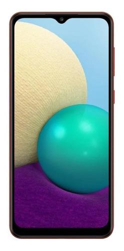 Celular Smartphone Samsung Galaxy M02 M022m 32gb Vermelho - Dual Chip