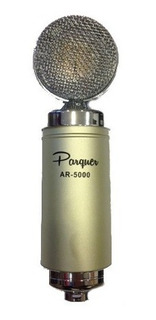 Micrófono Cardiode Vintage Parquer Ar-5000 + Estuche Y Araña