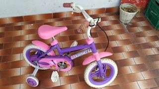 Bicicleta Niña Con Ruedita