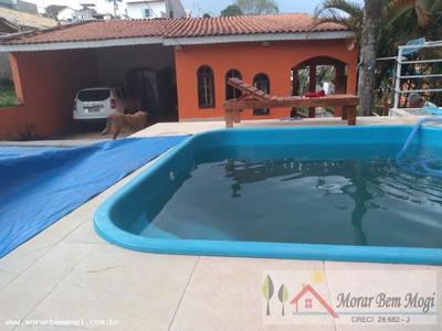 Chácara Para Venda Em Mogi Das Cruzes, Vila Brasileira, 2 Dormitórios, 2 Suítes, 4 Vagas - 3187