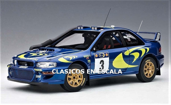 Subaru Impreza Wrc 1997 - Rally Of Safari - Autoart 1/18