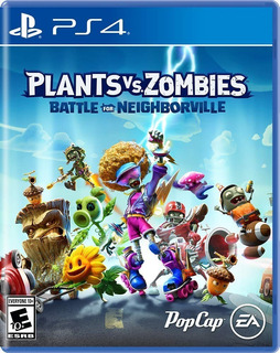 Plants Vs Zombies Battle Of Neighborville Ps4 Español