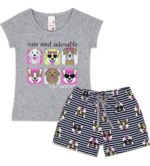 Roupas Infantil Menina Kit Com 10 Conjuntos Cliente Escolhe