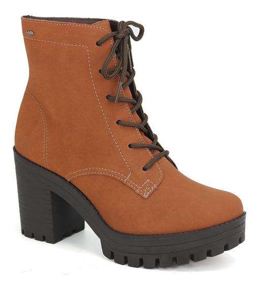 Promoção Bota Ankle Boot Coturno Feminino Dakota G0121