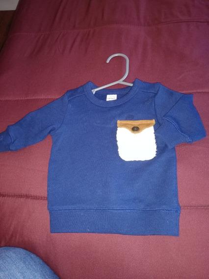 Saco De Bebe Azul Carters 3meses