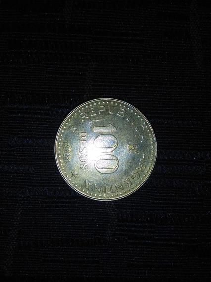 Moneda 100 Pesos De La Republica Argentina 1981