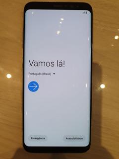 Galaxy S8 64gb Samsung Ametista Usado Seminovo Muito Bom