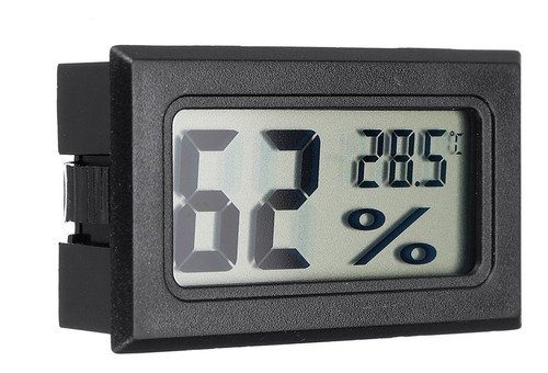 Termometro Higrometro De Embutir A Pila Nuevo Electroimporta