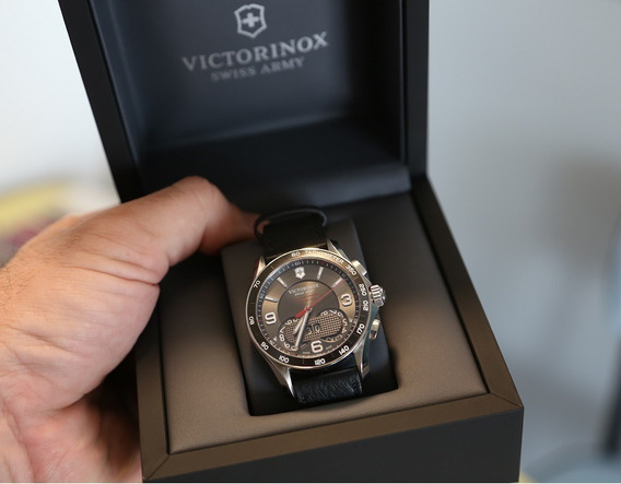 Victorinox Chrono Classic 1/100 - Couro - Original - Novo