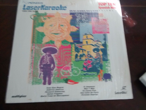 Laserkaraoke - Top Ten Spanish Hist  (u1373