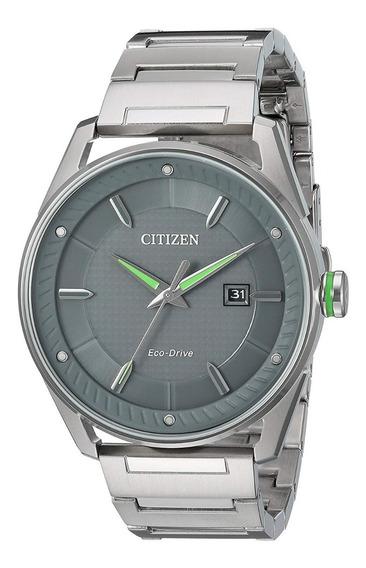 Reloj Citizen Bm6980-59h Gris Hombre