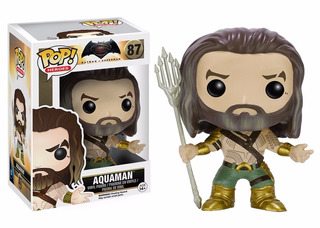 Funko Pop Aquaman De Batman Vs Superman