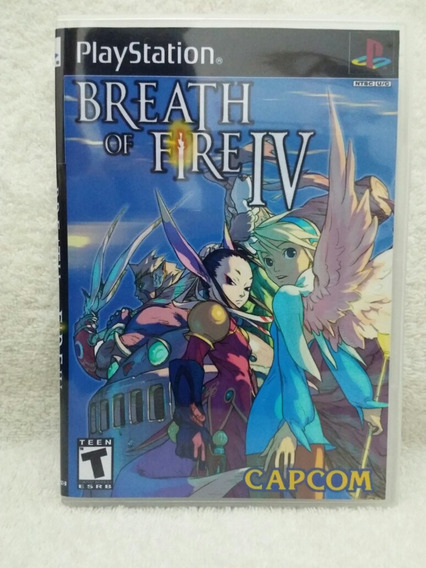 Breath Of Fire Iv Para Playstation 1 - Patch
