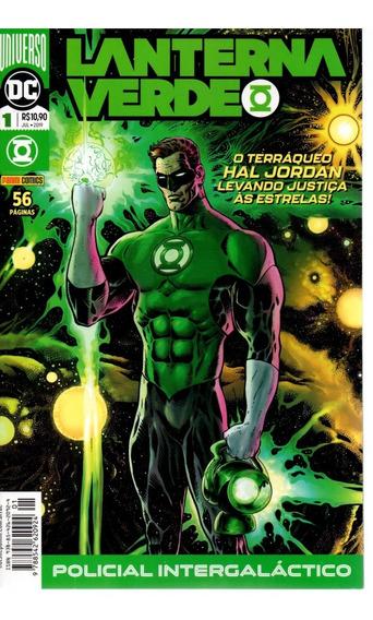 Lanterna Verde 1 - 2ª Serie - Panini 01 Bonellihq Cx130 J19