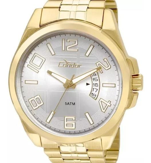 Relógio Condor Masculino Dourado - Co2115xn/4k