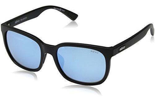 Revo Re 1050 Slater Polarized Wayfarer Gafas De Sol Mate Neg