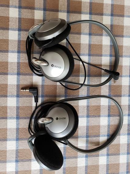 Audífonos Coby, Precio Por Los Dos
